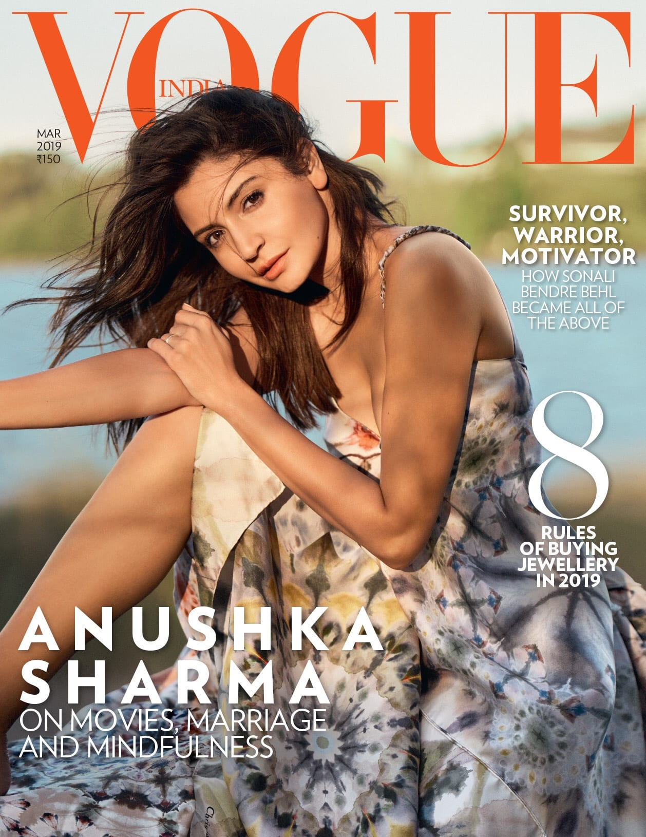 Anushka Sharma - Vogue India cover
