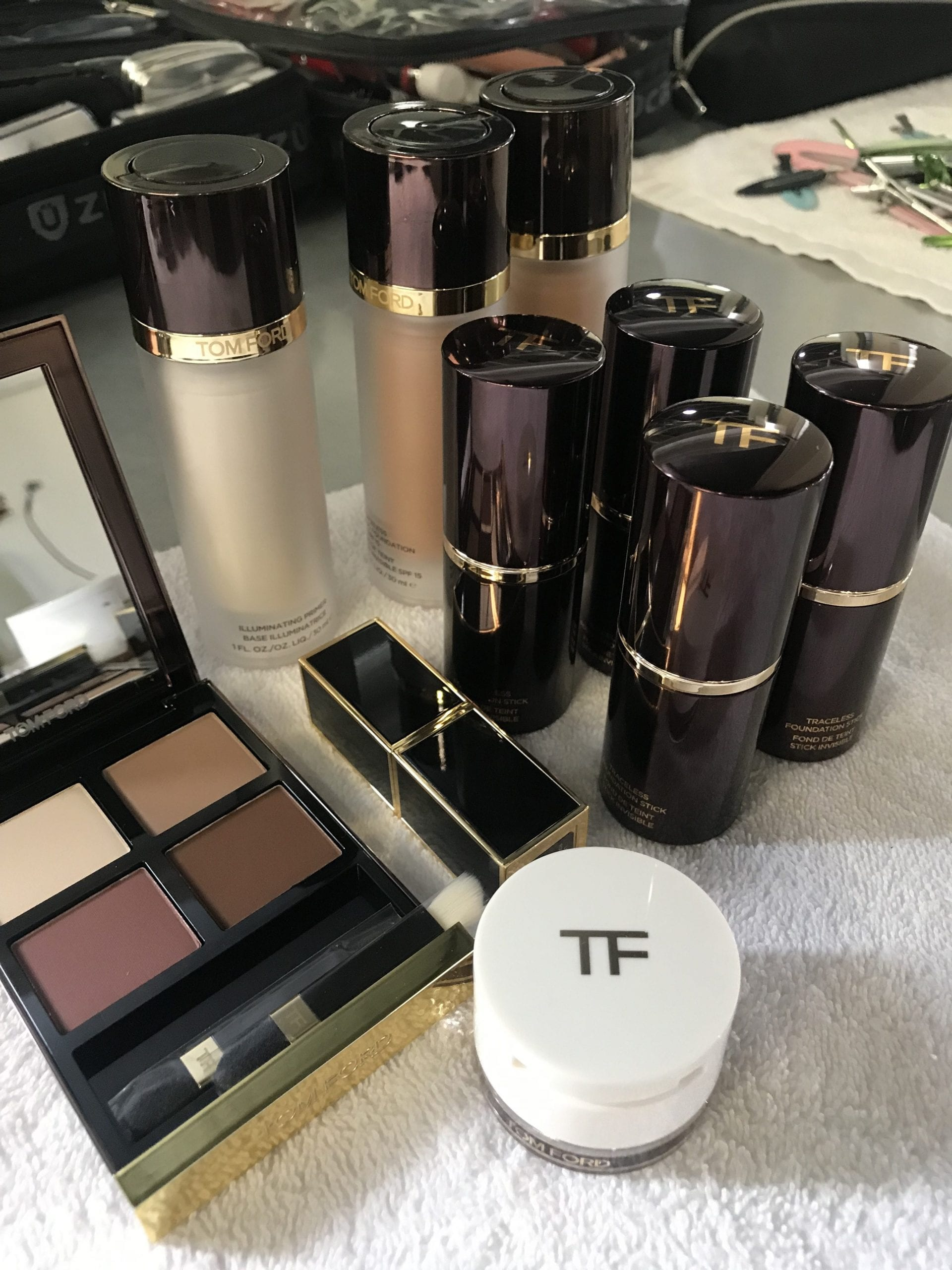 Instyle Cover Story Rose Byrne Tom Ford Products