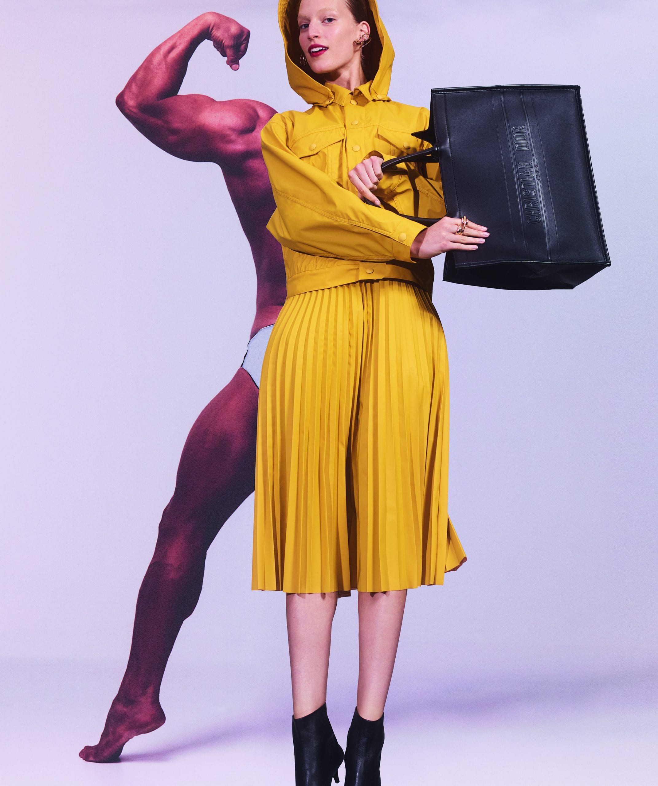 Vogue Editorial Heavyweights Linda Jefferyes
